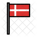 Country Denmark Flag Icon