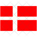 Flag Country Denmark Icon
