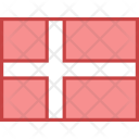 Denmark Flag Country Icon