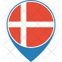 Denmark Flag World Icon