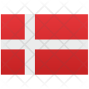 Denmark Flag Nation Icon