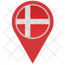 Denmark Location Pointer Icon