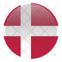 Denmark National Country Icon