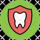 Dental Shield Tooth Icon