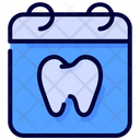 Calendar Dental Dentist Icon