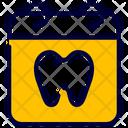 Calendar Dental Dentist Icon
