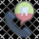 Dental Appointment Denatl Call Icon