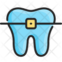Dental Braces Orthodontic Icon