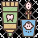 Dental Care Set Icon