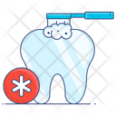 Brushing Tooth Dental Care Tooth Care Icon