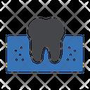 Teeth Cavity Dental Icon