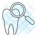 Check Up Magnifying Icon