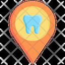 Dental clinic location Icon