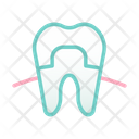 Dental Cover Dental Crown Cover Icon