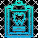 Dental Document Healthcare Icon