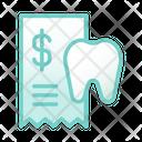 Dental Fees Dental Fees Icon