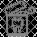 Clean Dental Dentist Icon