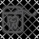 Dental Floss Dentist Icon