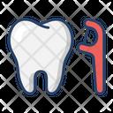 Dental Floss Picks Icon