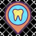 Dental Hospital Location Icon