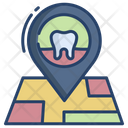 Dental Hospital Location Icon