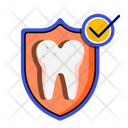 Dental Insurance Medical Protection Coverage Icon