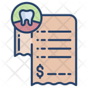 Dental Invoice Icon