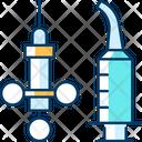 Dental Syringe Irrigation Icon