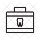 Kit Briefcase Aid Icon