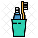 Toothbrush Healthcare Medical Icon