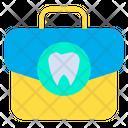 Dentist Bag Dentist Kit First Aid Kit Icon