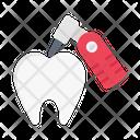 Dental Liquid Filling Icon