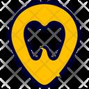 Destination Location Tooth Icon