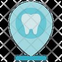 Dentist Location Dental Icon