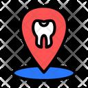 Dental Clinic Location Dental Dental Location Icon
