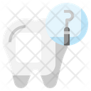 Dental Probe Dental Care Dentist Icon