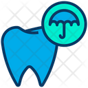 Insurance Mediclaim Teeth Icon