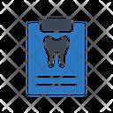 Dental Report Oral Icon