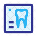 X Ray Tooth Stomatology Icon