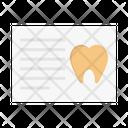 Report Oral Dental Icon