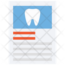Dental Report Medical Report Dental Checkup Icon