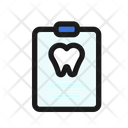 Dental Report Tooth Report Teeth Report Icon