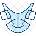 Dental Mouth Retainer Icon