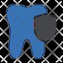 Teeth Security Dental Icon