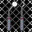 Dental Oral Tools Icon