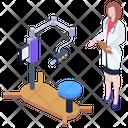 Dental X Ray Machine Icon