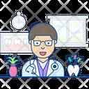 Dentist Doctor Dental Surgeon Icon