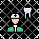 Dentist Doctor Teeth Icon