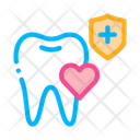 Dentist Teeth Insurance Icon