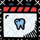 Dentist Calendar Date Icon